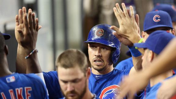 Cubs hold on to topple Kershaw, Dodgers