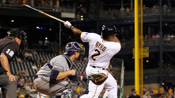 Video - Byrd Homers In Pirates Debut