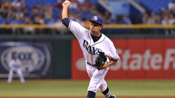 Rays cool Angels behind Archer, DeJesus