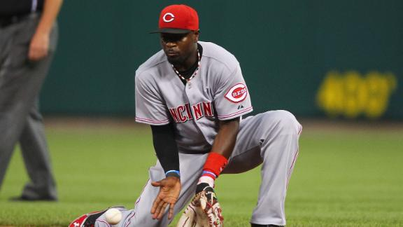 Reds' Phillips lashes out at reporter over OBP