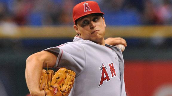 Video - Angels Shut Out Rays