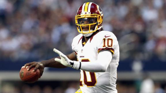 Shanahan: RG III will start Monday opener