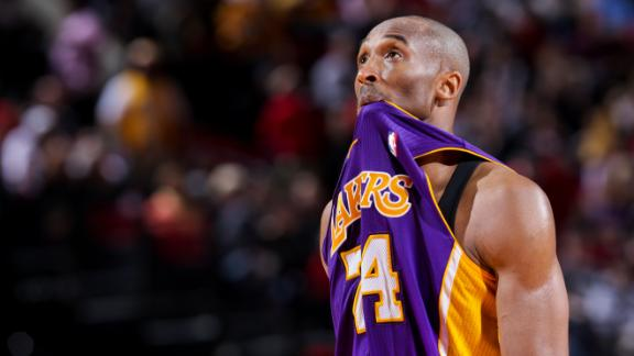 Video - Kobe Bryant's High-Dive Leap