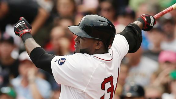 Ortiz still on tear as Red Sox slip White Sox