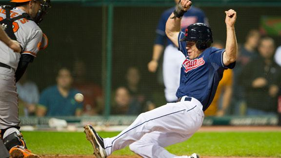 Video - Indians Hold Off Orioles