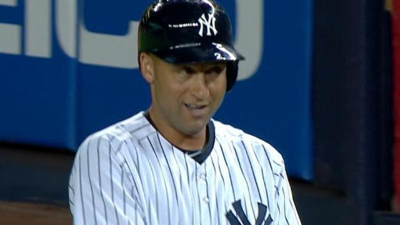 Jeter moves into ninth on all-time hits list