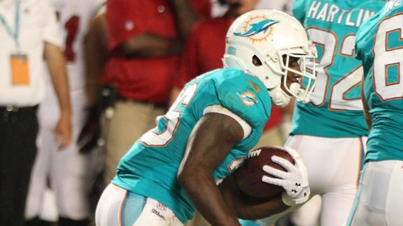 Video - Miller Is Dolphins' Starting RB