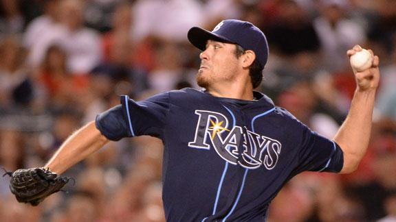 Moore returns as Rays get back on track