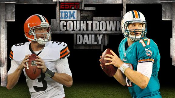 Video - Inside Edge: Browns-Dolphins