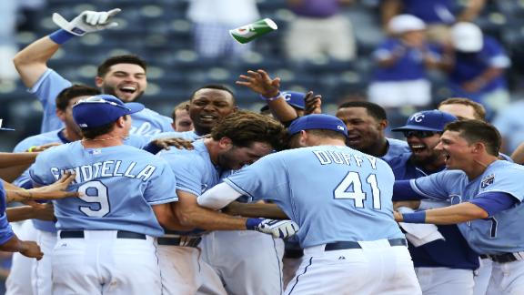 Video - Royals Rally To Walk Off In 13th