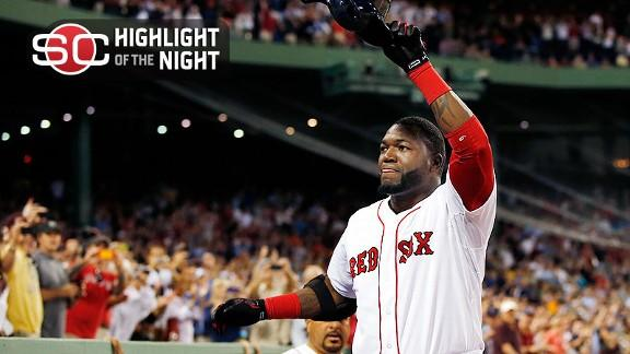 Red Sox make loud statement with eight HRs