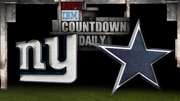 Video - Countdown Daily Prediction: NYG-DAL