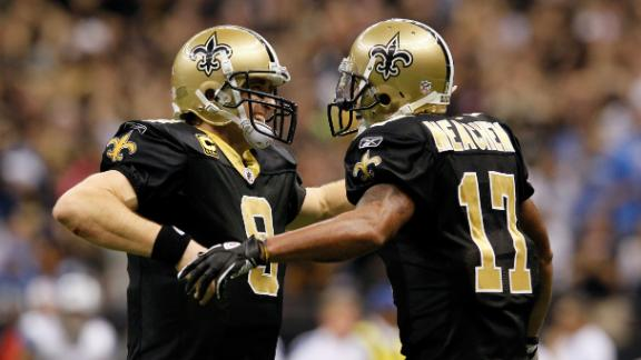Meachem glad to be back 'home' with Saints