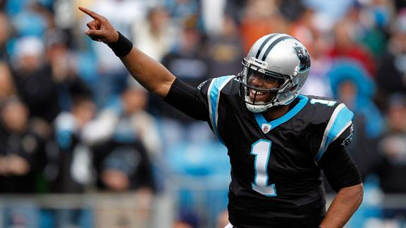 Video - Cam Newton Voted Team Captain