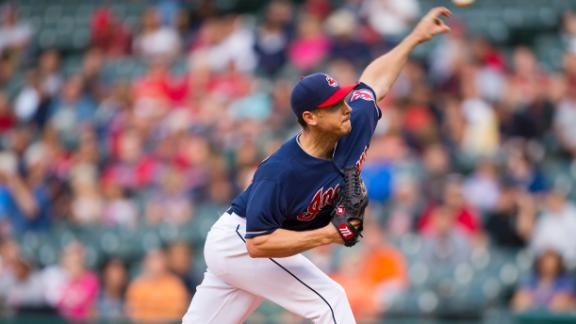 Kazmir K's 12 as Swisher, Indians roll Mets