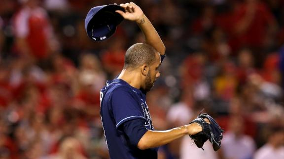 Angels bash Rays as Price loses 2nd in row