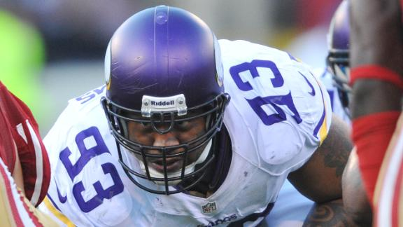 Defensive void: Vikings' Williams sidelined