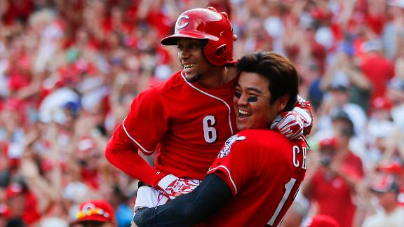 Video - Reds Walk Off Against Dodgers