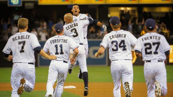 Video - Padres Walk Off With Win