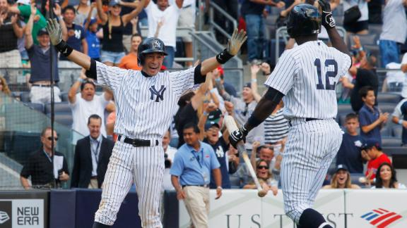 Yanks avoid sweep despite Mo's blown save
