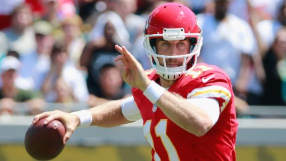 Chiefs kick off Reid era with rout of Jaguars