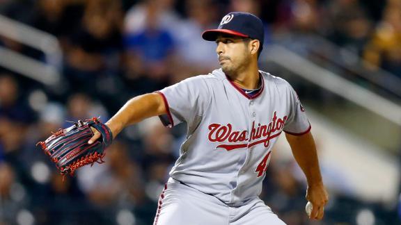 Video - Gonzalez, Nationals Dominate Mets