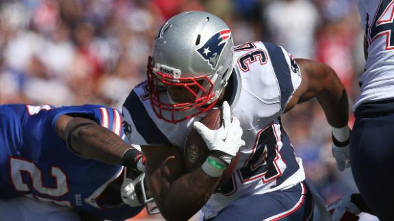 Report: Pats RB Vereen needs wrist surgery