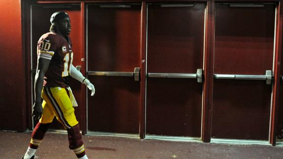 RG III: NFL told me to cover up knee brace