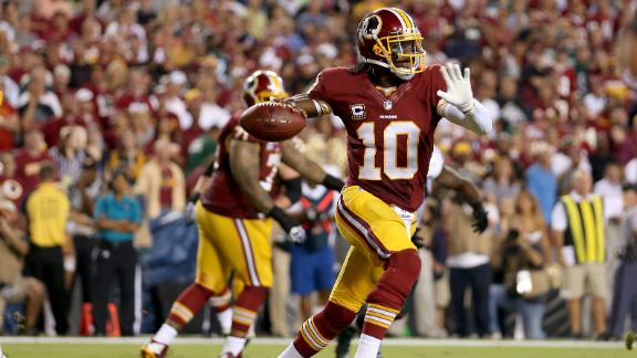 NFL to RG III: Knee brace can be exposed