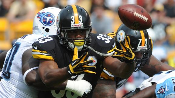 Steelers RB Redman to start again in Week 2