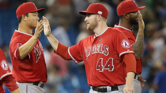 Video - Angels Edge Blue Jays