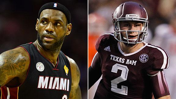 Video - Similarities Between LeBron, Manziel