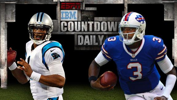Video - Countdown Daily Prediction: CAR-BUF