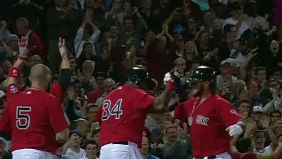 Saltalamacchia slam lifts Red Sox by Yanks