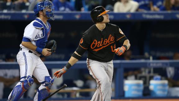 Davis hits 50th homer as Orioles beat Jays