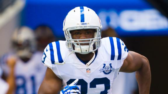 Colts lose RB Ballard (torn ACL) for season