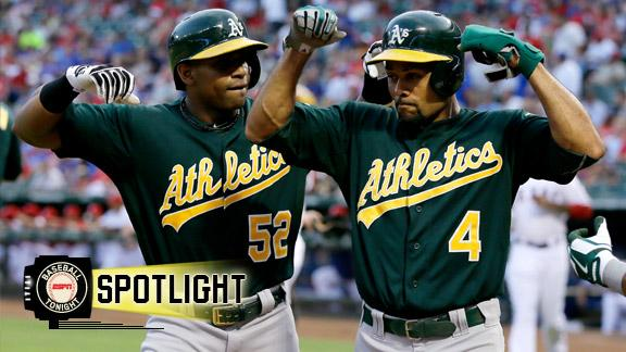 A's hold off Rangers, extend AL West lead to 4 1/2