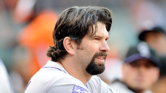 Five-time All-Star Helton of Rockies to retire