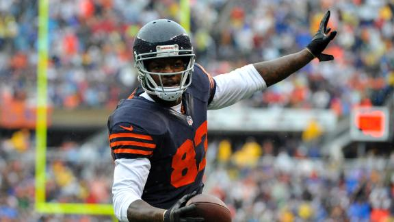 Bears edge Vikes on Cutler's TD to Bennett