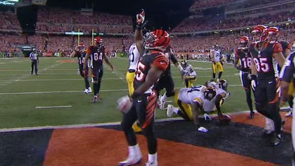 Video - Bengals Lead Steelers After The 1st Quarter