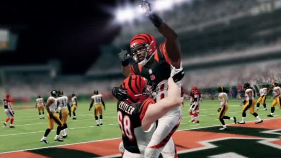 Video - MNF EA Simulation: Steelers-Bengals