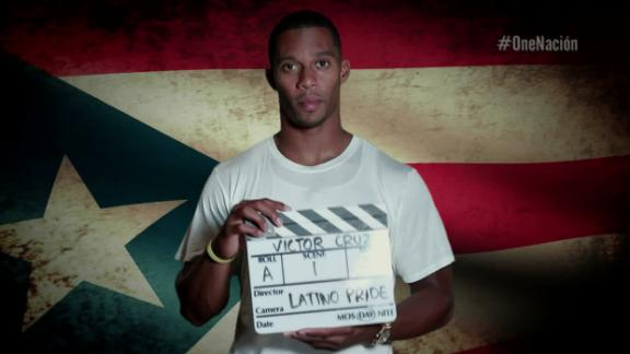 Video - Hispanic Heritage Month: Victor Cruz