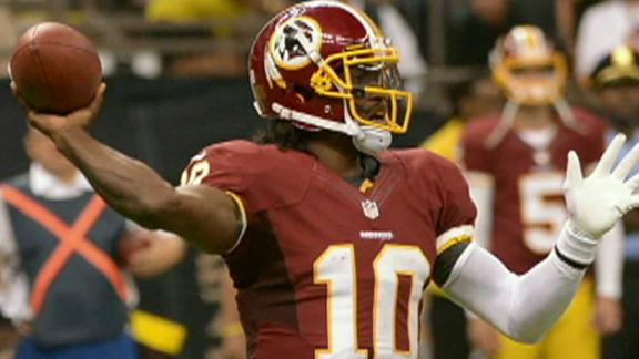 Redskins offense limited by play, not RG III