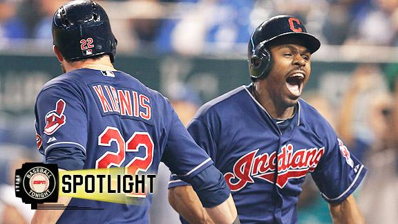 Indians rally off bullpen for win over Royals