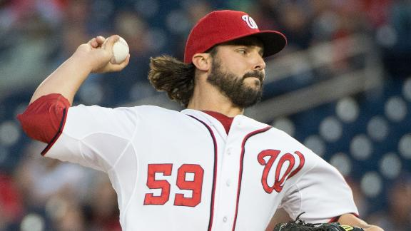 Nats sweep Braves day after Navy tragedy