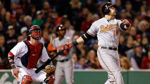 O's get to Uehara, slip past Red Sox in 9th