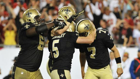 Video - NFL Nation Buzz: Saints
