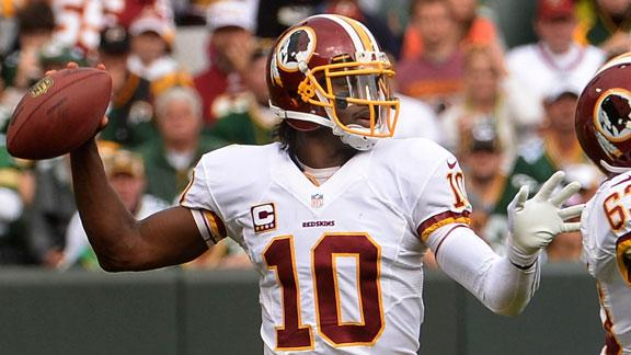 RG III: Peterson return didn't add pressure