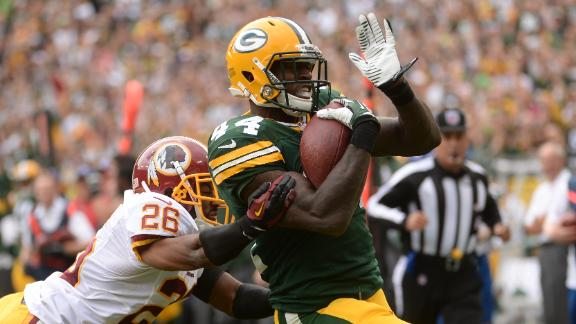 Starks to get starting nod at RB for Packers