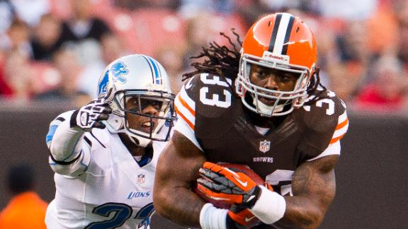 Video - Trent Richardson Traded To Colts